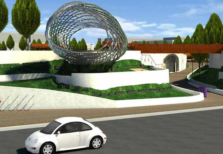 3D BIM Modeling of a Public Park in California, USA