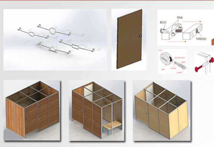 CAD Drawings to Detailed Engineering of Retail Furniture Manufacturer in UK