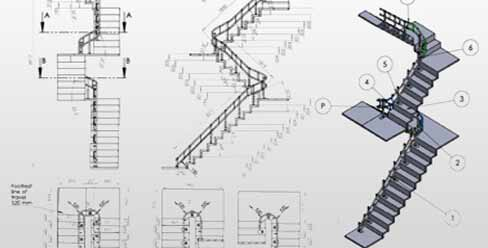 3D CAD Modeling & Fabrication Drawing for Stairlifts Manufacturer