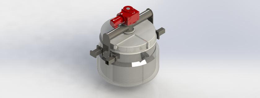 Browing Tank 3D Rendering