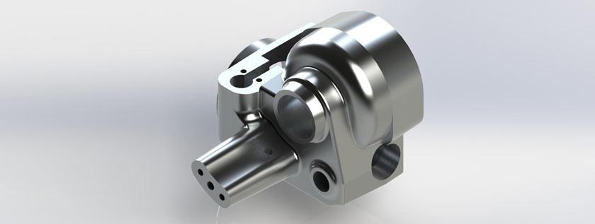 Industrial Part 3D Modeling