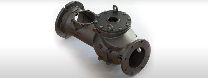 Industrial Valve 3D Modeling