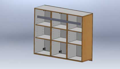 Library Cabinet Design