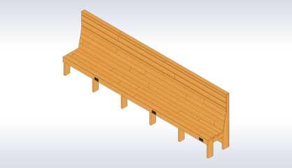 Wooden Benche