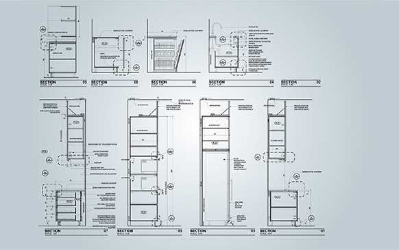 Kitchen MillWork Drafting