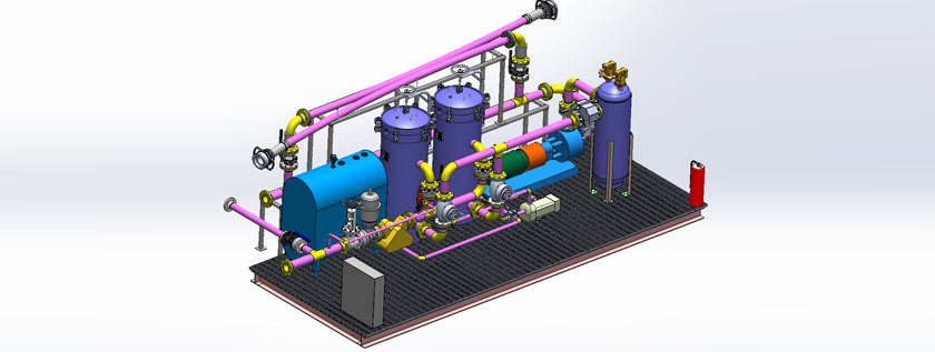 Industrial Plant 3D Modeling