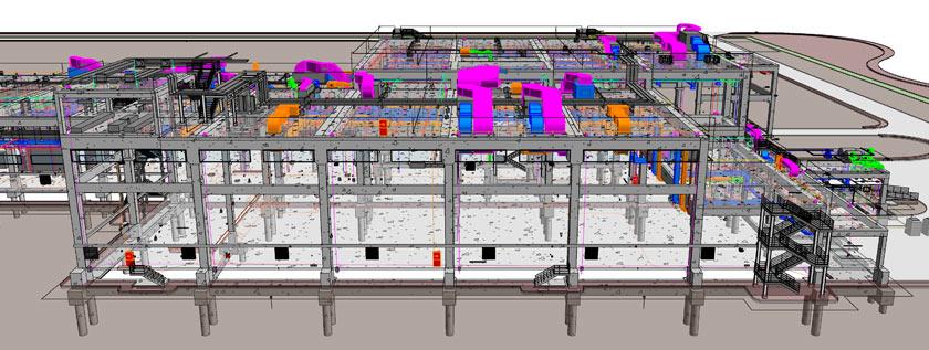 3D MEP Modeling in Revit