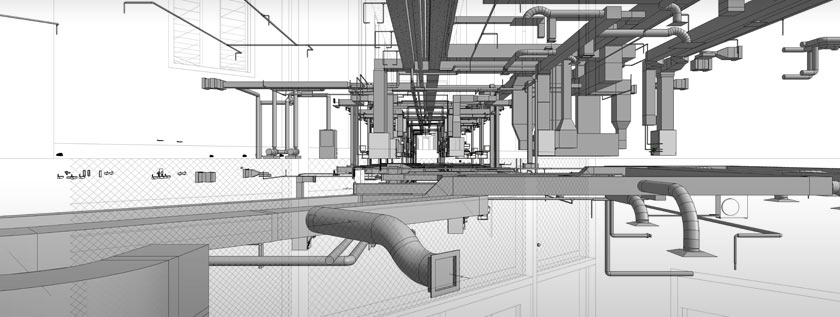 3D MEP Drawings and Drafting Services