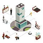 Hospitality buildings