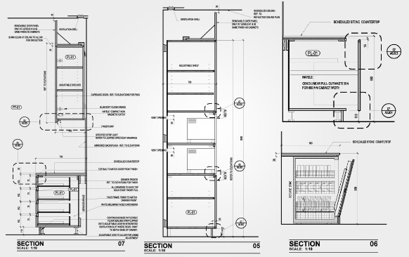 Millwork Drawing