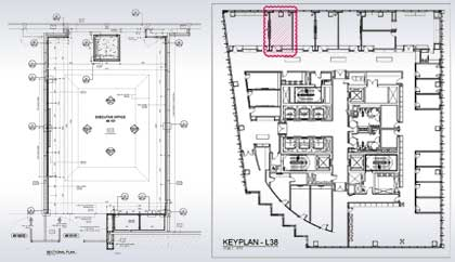 Architectural Plan for Corporate Office