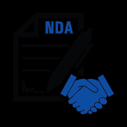 100% NDA compliance