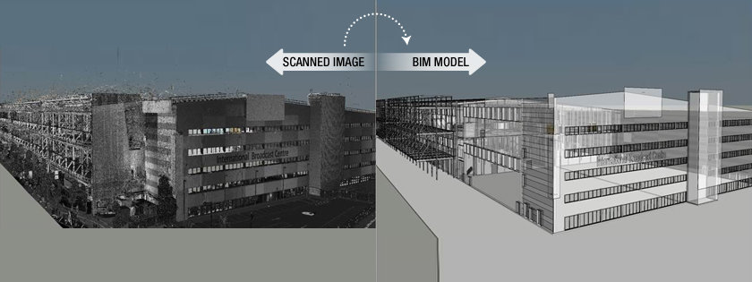 Point Cloud to BIM Conversion