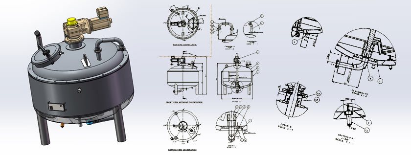 Pressure Vessel Design Services Storage Tank Design