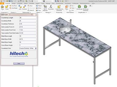 Product Configurator using Inventor iLogic