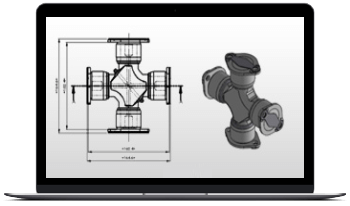 Reverse Engineering of U-Joint, Brake Drum and Rotor Parts, USA