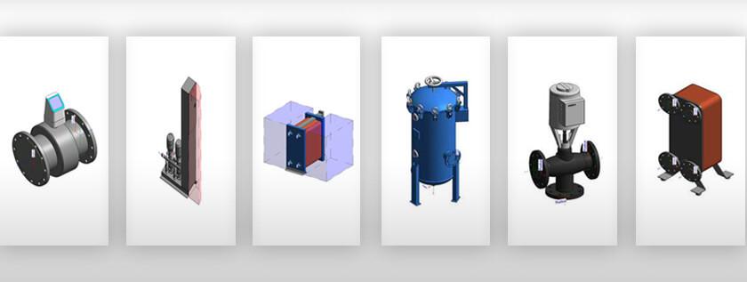 Revit BIM Content Creation for MEP Equipment Manufacturers