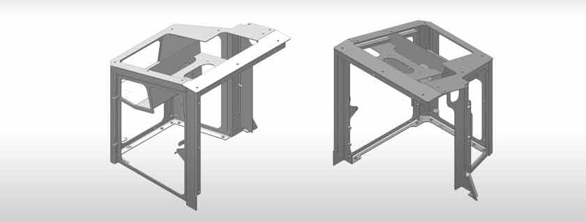 3D Modeling for Sheet Metal Components