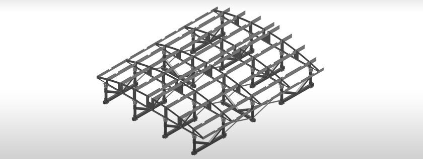 Sheet Metal Roofing Model