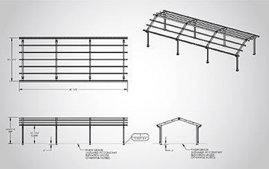 Sheet Metal CAD Drafting