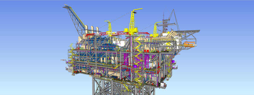 Steel Structure Detailing in Tekla