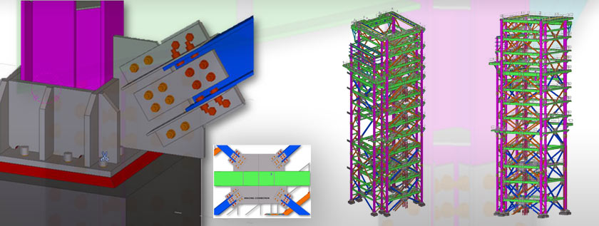 Tekla Structures for Steel Detailing Services