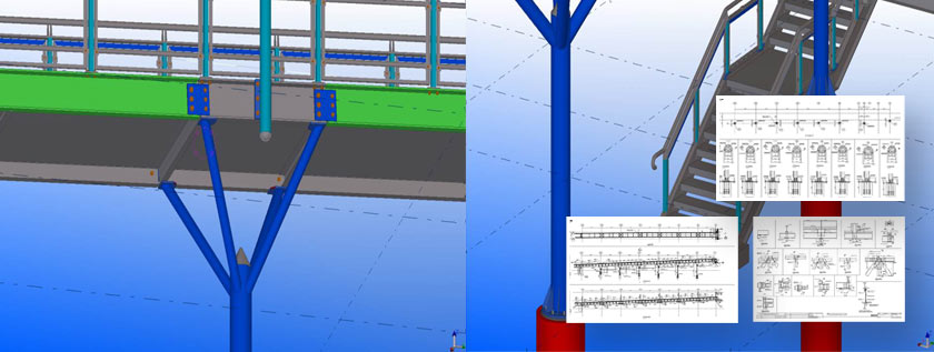 Shop Drawing for Steel Structures