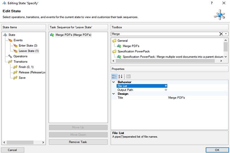 Use of Merge PDF
