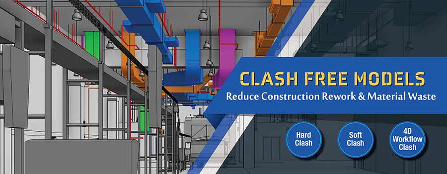 3D BIM Clash Detection