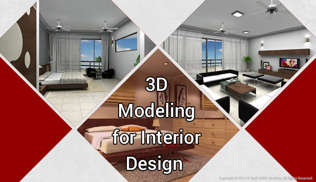 3D Modeling For Interior Design