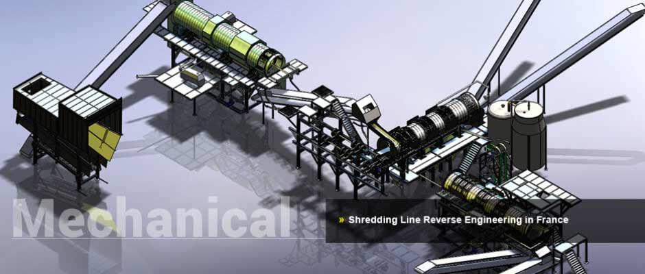 Shredding Line Reverse Engineering in France