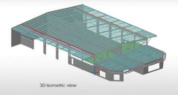 Structural 3D Modeling using Tekla for a Business Park, Australia