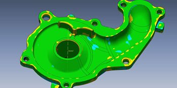3D Scan Data to Manufacturing Ready CAD Model Conversion