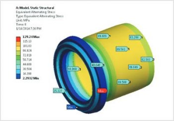 Life Assessment of Valve Component Subjected to Internal Pressure Loading