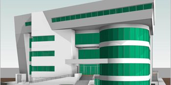 BIM LOD300 Federated Model for the Largest Ophthalmic Hospital in Egypt