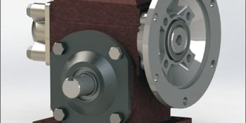 CAD Conversion of Reducer Gear Assembly for a Steel Strapping Machine