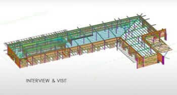 Onsite Structural Steel Detailing to Steel Fabricator, Australia