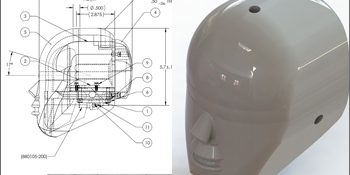 Developed 3D Model, Assembly & Detailed 2D Drawings for Crash Test Dummies, USA