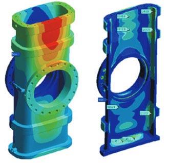 Design Optimization of Gate Valve Body for High Pressure Fluid Flow Applications, USA