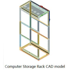 Seismic Qualification of Industrial Rack for Storing Computer Peripherals