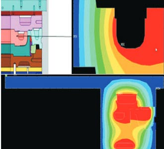 Thermal Analysis of Curing Tool for Heat Transfer & Cooling Systems Manufacturer, Canada