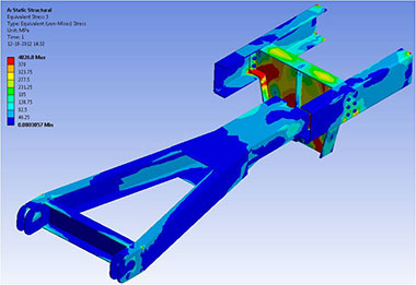 Fifth Wheel Assembly Structural Analysis