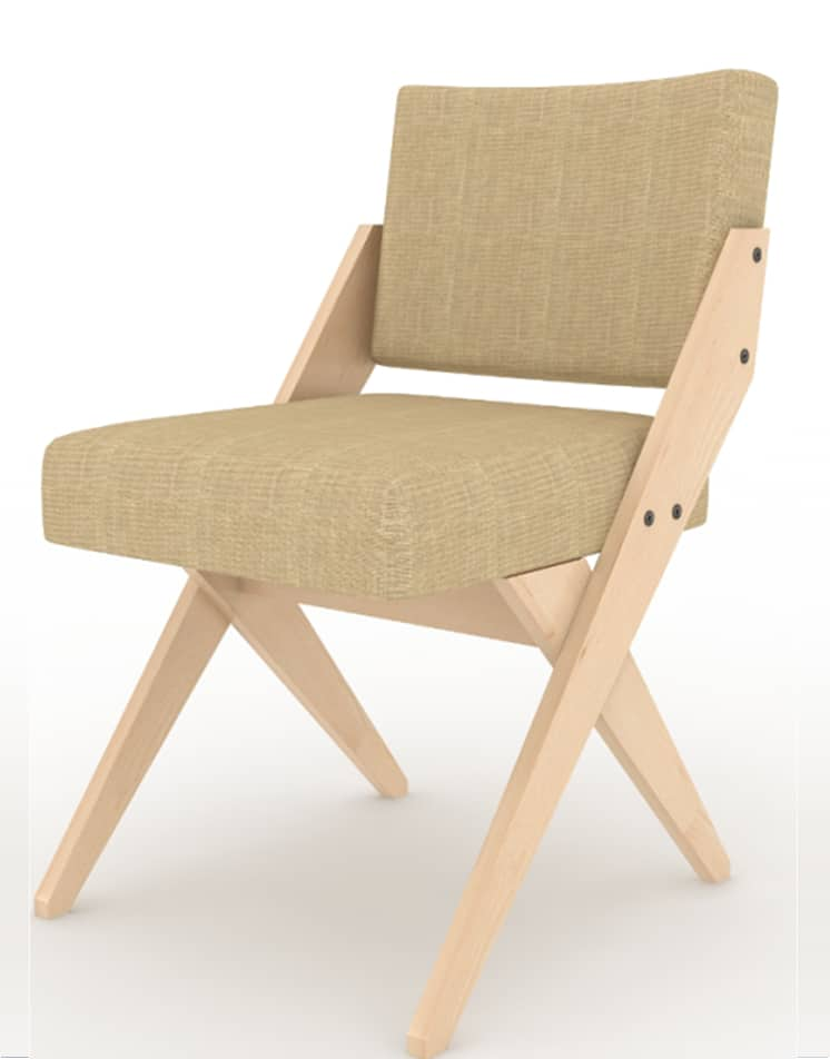 Chair 2 – 3D Models & Isometric Furniture Manufacturing Rendering Sample