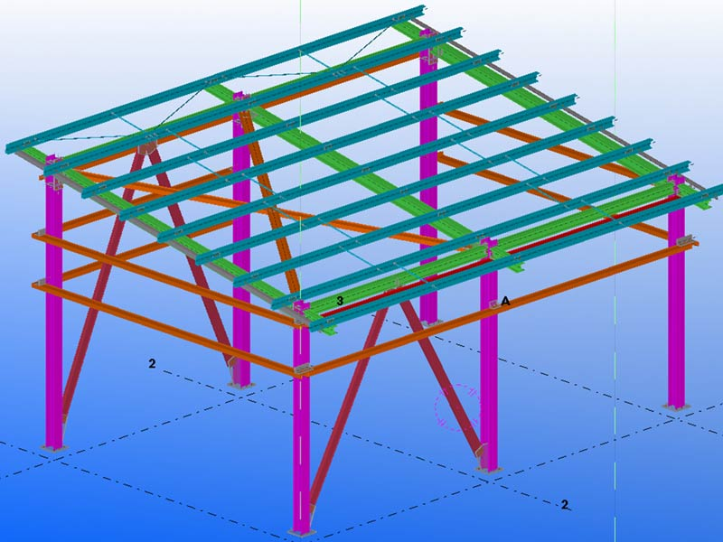 Instrument Air Package – Structural Steel Detailing Service