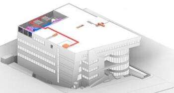 3D BIM Modeling for a Large Hospital Building, Egypt