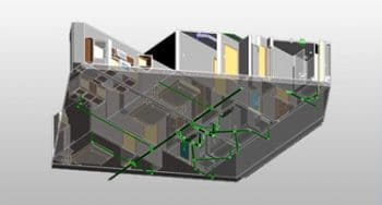 MEP BIM Modeling with LOD 400 for Residential Building, USA