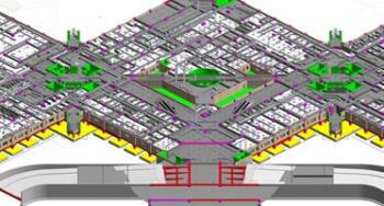 BIM MEP Modeling for a University Hospital Building, Saudi Arabia