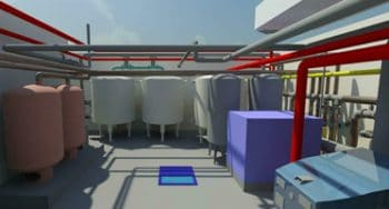 MEP 3D Modeling & Clash Detection for Plant Room, Europe