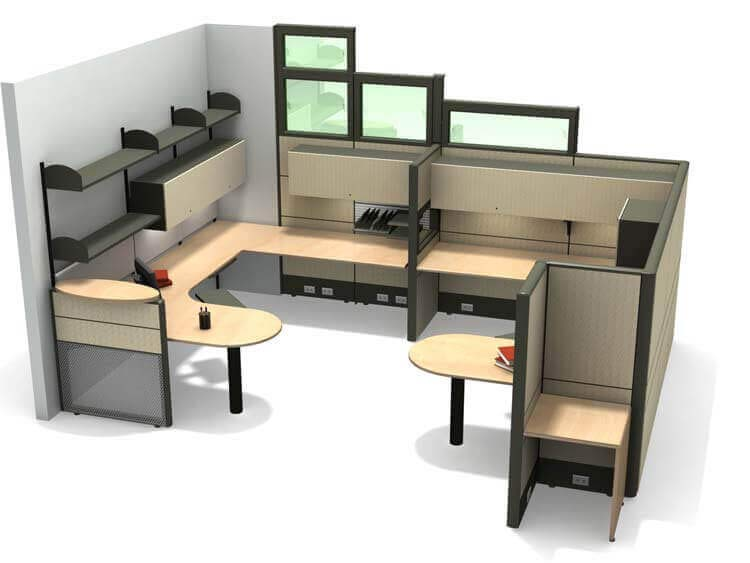 3d visualization 3d rendering services architectural 3d for Office table 3d design