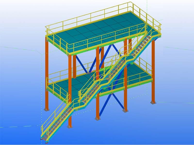 PSV Platform – Structural Steel Detailing Service